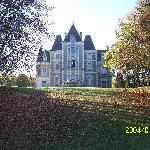 Le Chateau de Fontenay - rear view