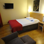 My room and the comfortable bed