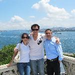 Me, my wife and Ugur (our personal guide)