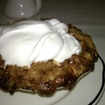 Green tomato-apple crisp