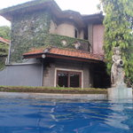  View of Villas from Pool area