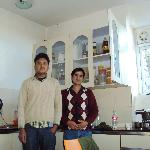  Raju and Gopi-the housekeepers and great cooks!