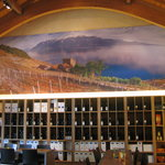 The wine tasting room