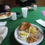 Breakfast at the Delta Amusement Cafe