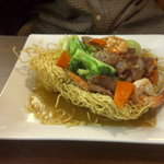 Beef & Shrimp Fried Noodles