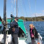 Aboard Talisker with Peter