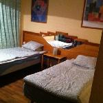 Spacy double room