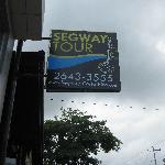Segway Shop in Jaco Beach main road