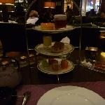 English Tea service and Loui Lounge