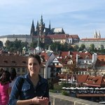 Sightseeing Prague´s guide Eva