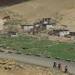 passing a Tibetan village enroute to Everest base camp @ Tibet