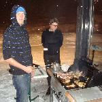  bbq dans la neige