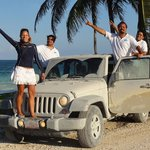 Sian ka'an Jeep Tour Expedition