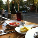 cured trout, pinot and the street