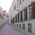  Vilnius old town street