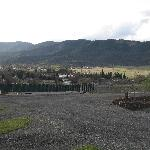 Yreka RV Park - View from our space, not busy in April