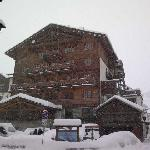  hotel con nevicata