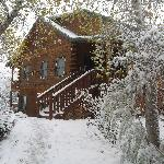 Prescott Log Cabin B&B December 2011