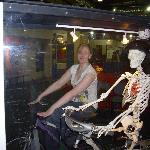 See what your skeleton does on a bike