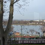 View of the Rhine from the dinning room.