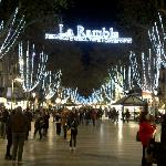  Christmas Time on La Ramblas