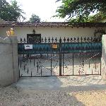 The entrance to Morgan's Guest House
