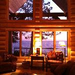  Living room and Lake Superior view
