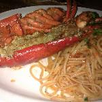 Whole Lobster with pasta