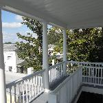 View from the 3rd floor porch