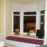 The bay window in Room 2