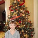 Beautiful girl! And what a great tree!
