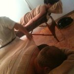  couples massage at Veronica&#39;s December 2011