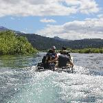 Fishing starts right outside the door - and on daytrips for floating, spring creeks etc.