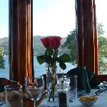 Elegant restaurant overlooking Campbeltown Loch, specialising in local Seafood, shellfish, meat,