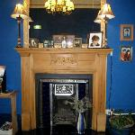 Fireplace in dining room - Belhaven