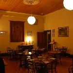 Queenscliff Inn dining room...