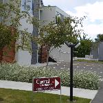 Central Luxury Apartments Methven - rear parking & access