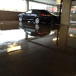  flooded car park