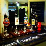  Nice selection of cask ale