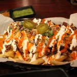 Kim Chi Carnitas Fries.