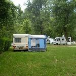 Campground in Szentendre, by Budapest