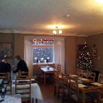 Dining Area all Christmassy