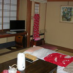 the room with futon set
