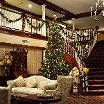  Holiday decorations at Colonial Hotel in Gardner, MA