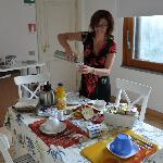 Kitchenette - Wonderful espresso served in the beautiful breakfast room