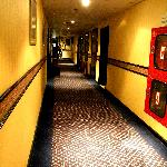  hallway, i think it was 8th floor?