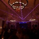  Lasershow bei Silvesterparty