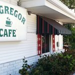 McGregor Cafe sign