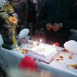  new year function cake