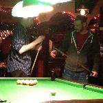 "Learning to play ""irish"" pool"